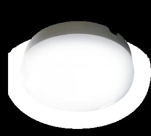 Светильник для подъездов с акустическим датчиком круглый 10w
