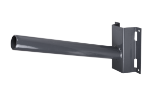 Настенный кронштейн для крепления мачтовых светильников. Крепят так же консольники меньшей мощности, но ниже по столбу