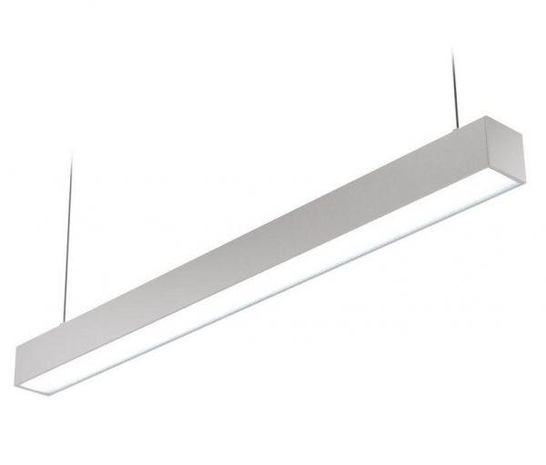 Высокомощные линейные светильники для торгового зала и промышленных помещений