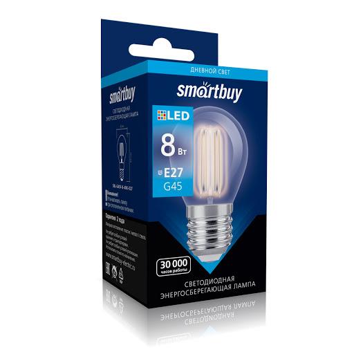 лампа G45 с прозрачной колбой на SmartLED.by