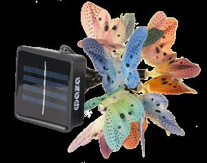 бабочки на солнечных батарейках