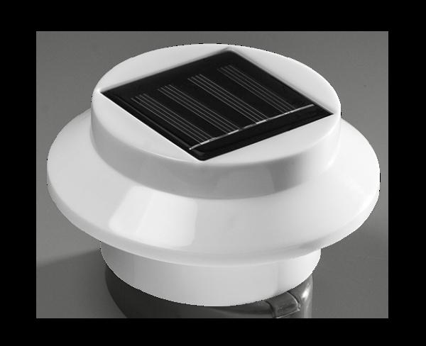 Настенный светильник на солнечной батарее уличный