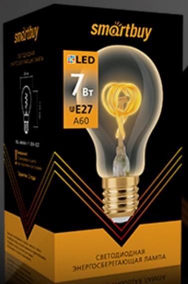 Светодиодная (LED) Лампа ART Smartbuy-A60-7W/3000/E27 2