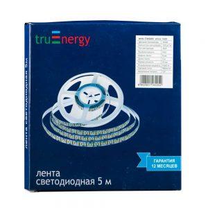 Светодиодная лента 12V-2835-60D, 3W/m, 4000K, IP20, 5м TruEnergy