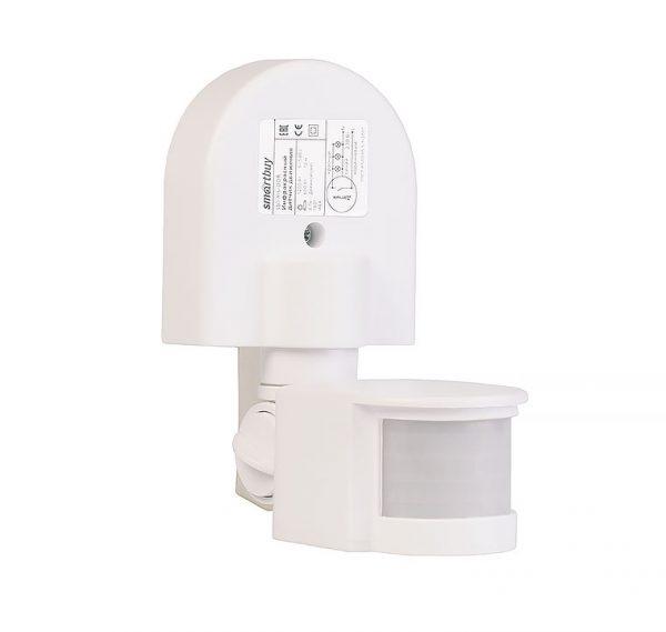 Инфракрасный датчик движения Smartbuy, настенный 1200Вт, до 12м, IP44 (sbl-ms-008)