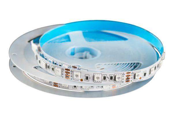 Лента светодиодная 12V-5050-60D, 14,4W/m, 6000K, IP20, 5м 1