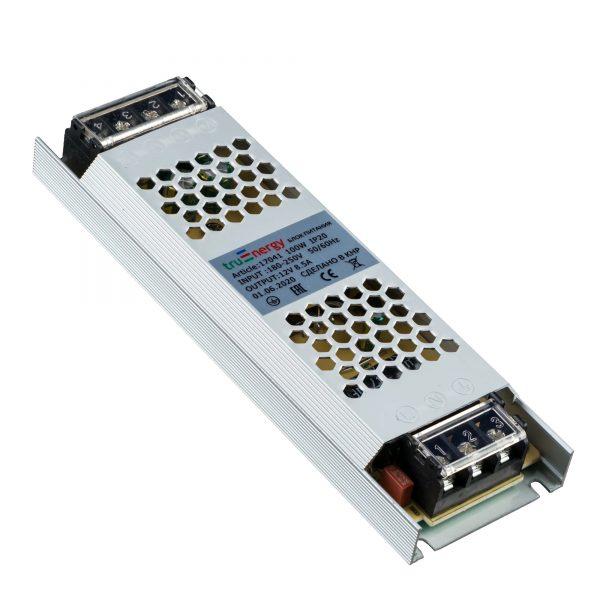 Блок питания для светодиодной ленты, серия Block Mini, 12V, 100W, IP20 1