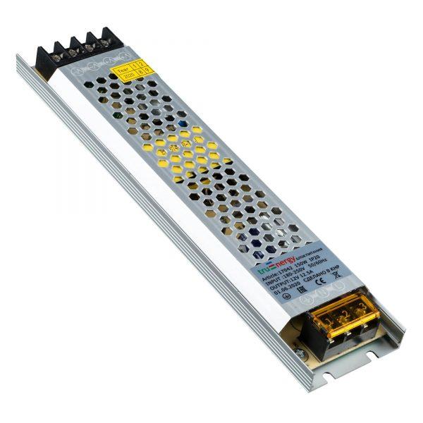 Блок питания для светодиодной ленты, серия Block Mini, 12V, 150W, IP20 1