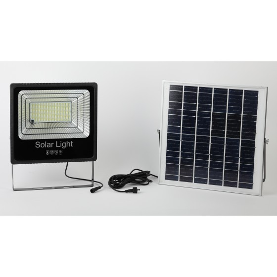 ЭРА Прожектор светодиодный уличный на солн. бат. 150W, 1500 lm, 5000K, с датч. движения, ПДУ, IP65 ( 1