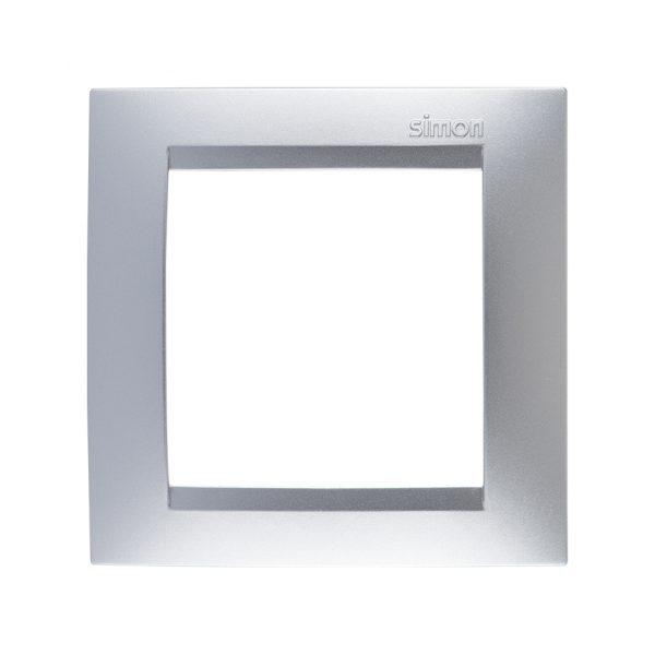 Рамка универсальная, 1 пост, алюминий Simon 1500610-033 1