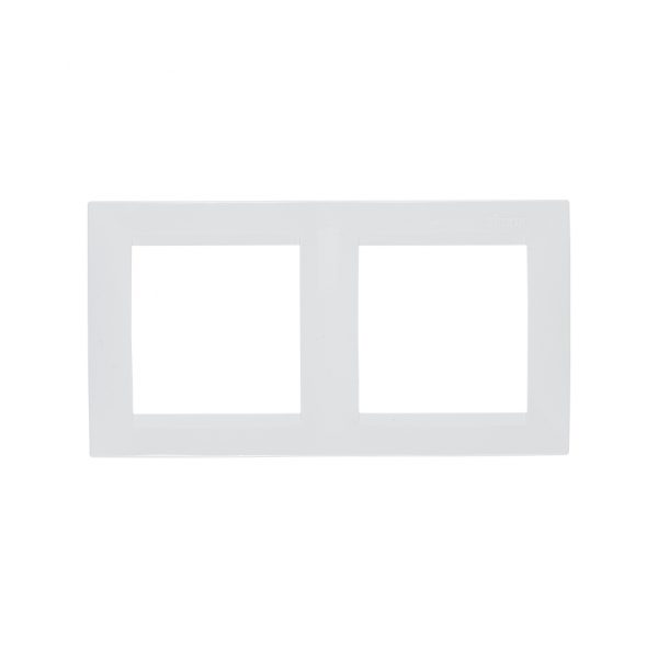 Рамка универсальная, 2 поста, белый Simon 1500620-030 1