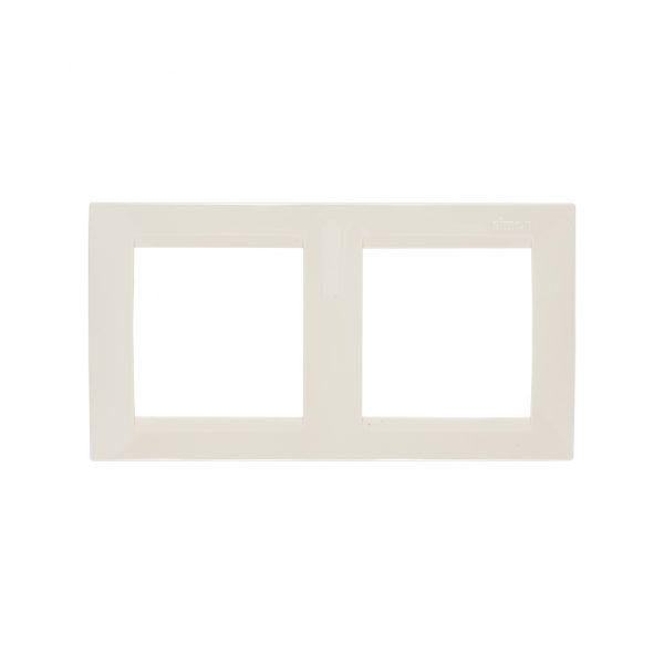 Рамка универсальная, 2 поста, слоновая кость Simon 1500620-031 1