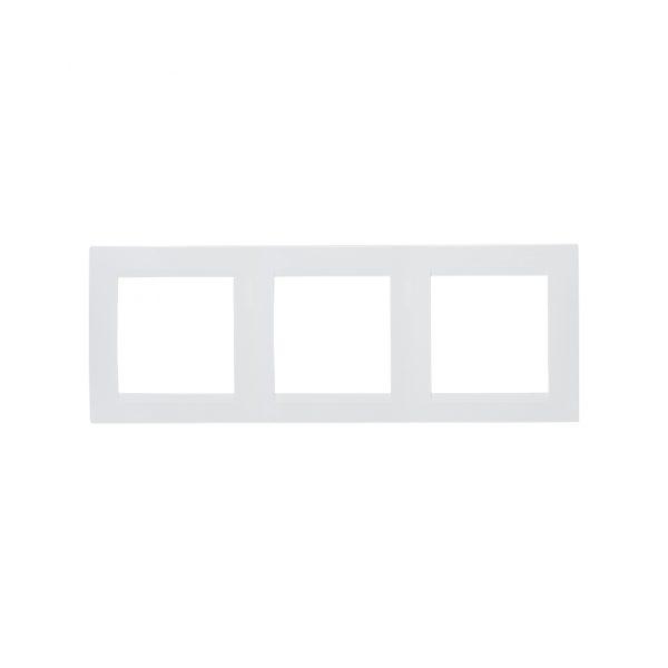 Рамка универсальная, 3 поста, белый Simon 1500630-030 1