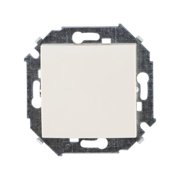 Выключатель одноклавишный, 16А 250В, винтовой зажим, слоновая кость Simon 1591101-031 1