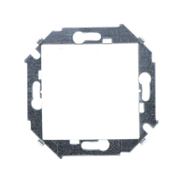 Выключатель одноклавишный проходной с 3-х мест (перекрёстный), 16А 250В, винтовой зажим, белый Simon 1591251-030 1