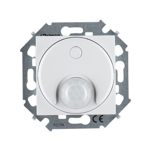 Выключатель с датчиком движения 500 Вт, 230 В, винтовой зажим, белый Simon 1591721-030 1