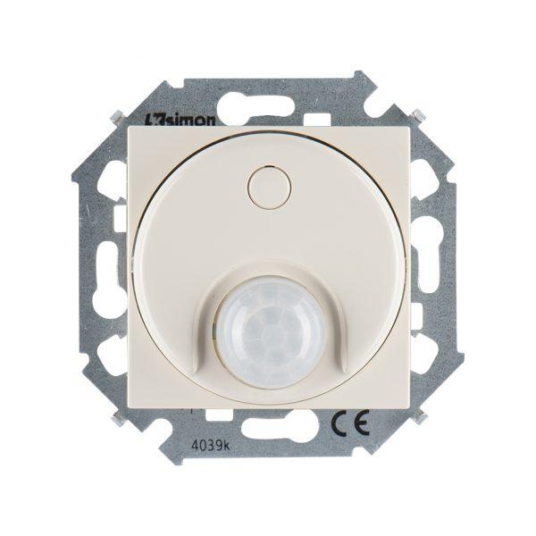 Выключатель с датчиком движения 500 Вт, 230 В, винтовой зажим, слоновая кость Simon 1591721-031 1