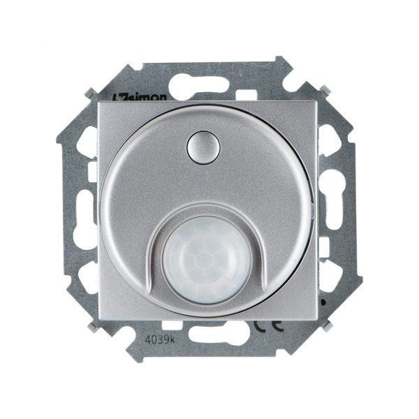 Выключатель с датчиком движения 500 Вт, 230 В, винтовой зажим, алюминий Simon 1591721-033 1