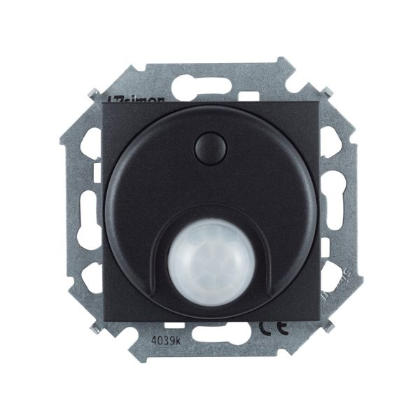 Выключатель с датчиком движения 500 Вт, 230 В, винтовой зажим, графит Simon 1591721-038 1