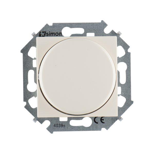 Регулятор напряжения поворотно-нажимной электронн. для регулир. устройств 1-10В, 230В, винтовой заж Simon 1591794-031 1