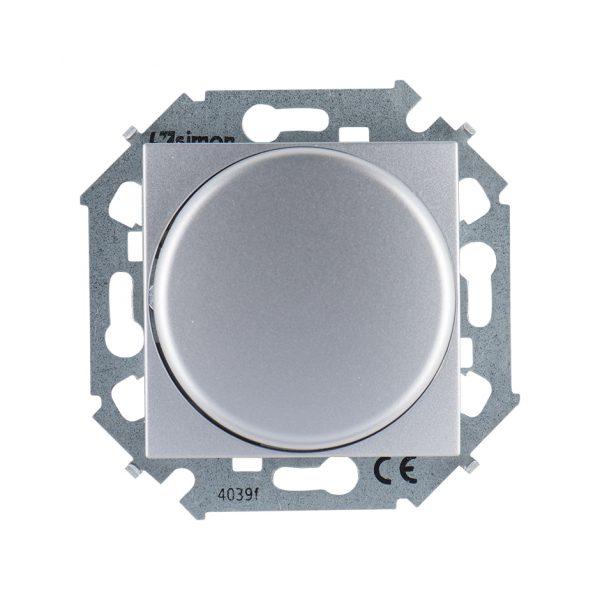 Регулятор напряжения поворотно-нажимной электронн. для регулир. устройств 1-10В, 230В, винтовой заж Simon 1591794-033 1