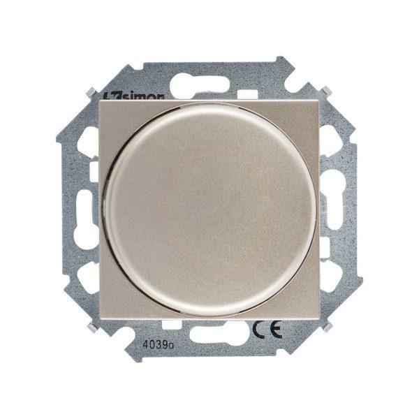 Регулятор напряжения поворотно-нажимной электронн. для регулир. устройств 1-10В, 230В, винтовой заж Simon 1591794-034 1