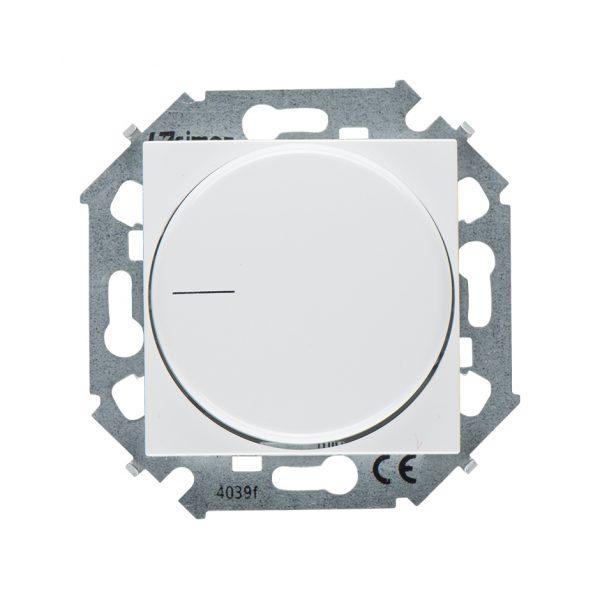 Регулятор напряжения поворотный для светодиодных регулируемых ламп 230В, 5-215Вт, винтовой зажим, бе Simon 1591796-030 1