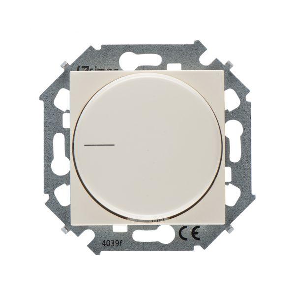 Регулятор напряжения поворотный для светодиодных регулируемых ламп 230В, 5-215Вт, винтовой зажим, сл Simon 1591796-031 1