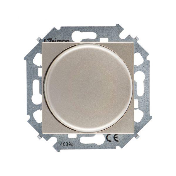 Регулятор напряжения поворотный для светодиодных регулируемых ламп 230В, 5-215Вт, винтовой зажим, ша Simon 1591796-034 1