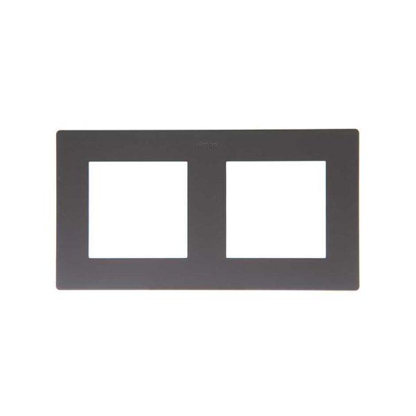 Рамка 2 поста, графит Simon 2400620-038 1