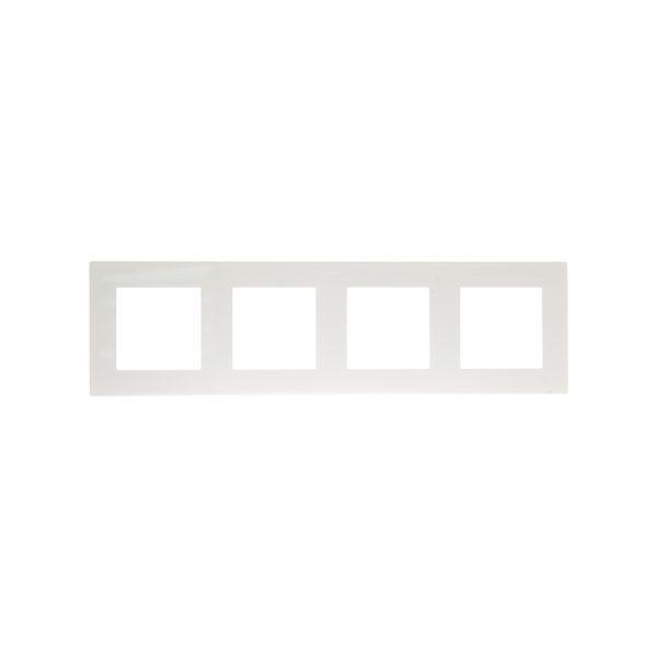 Рамка 4 поста, бел Simon 2400640-030 1