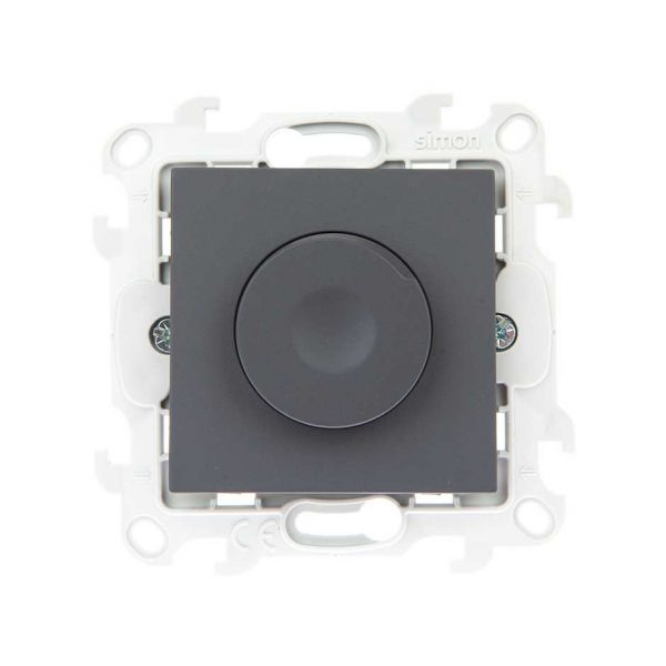 Светорегулятор 450В, графит Simon 2410313-038 1