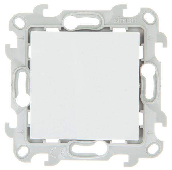 Кнопочный выключатель, бел Simon 2450150-030 1
