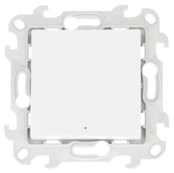 Переключатель с подсветкой, бел Simon 2450204-030 1