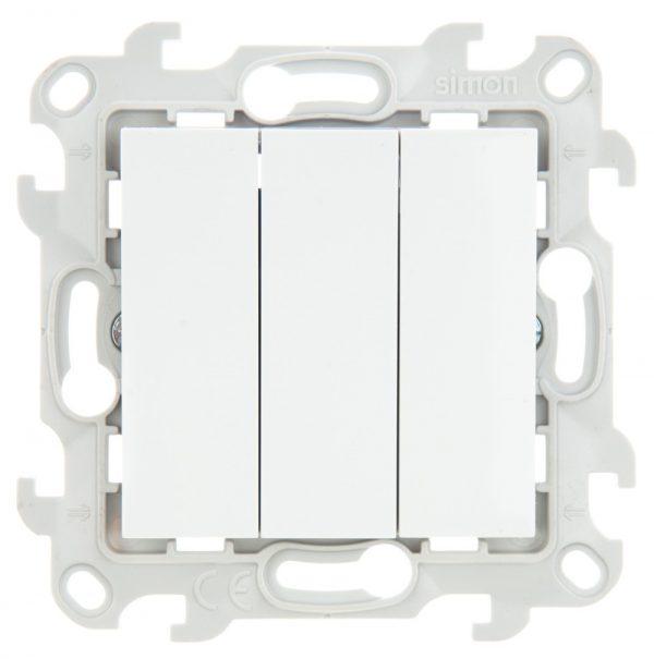 Трехклавишный выключатель, бел Simon 2450391-030 1