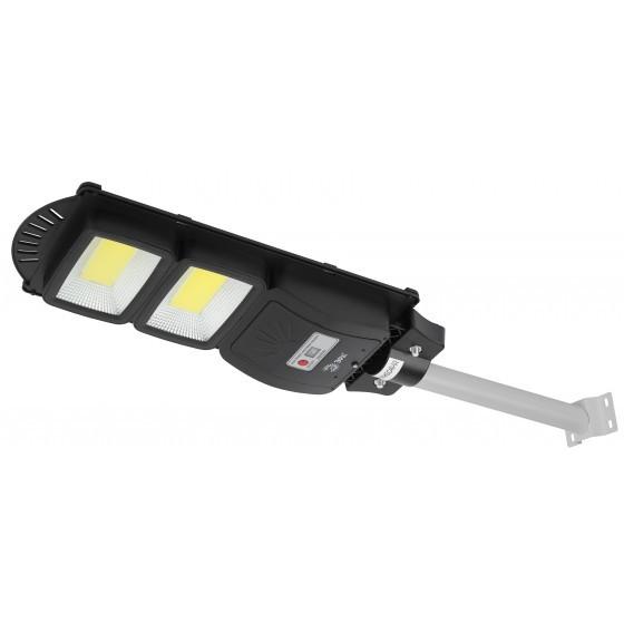 ЭРА Консольный светильник на солн. бат.,COB,с кронштейном,40W,с датч.движ., ПДУ,750lm, 5000К, IP66 ( 1