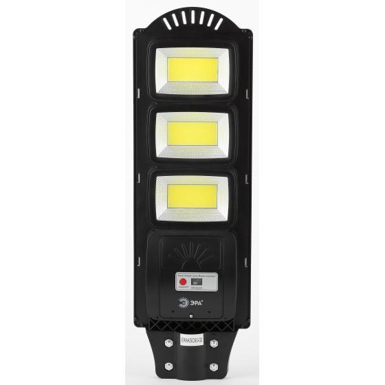 ЭРА Консольный светильник на солн. бат.,COB,с кронштейном,60W,с датчи. движ.,ПДУ,1100lm, 5000К, IP65 2