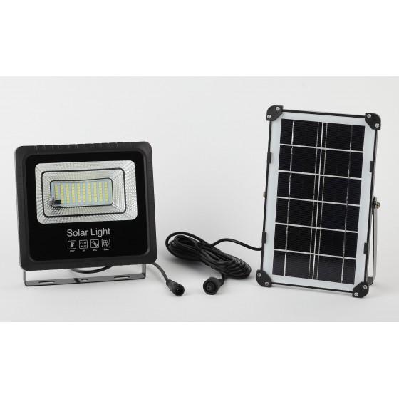ЭРА Прожектор светодиодный уличный на солн. бат. 50W, 360 lm, 5000K, с датч. движения, ПДУ, IP65 1