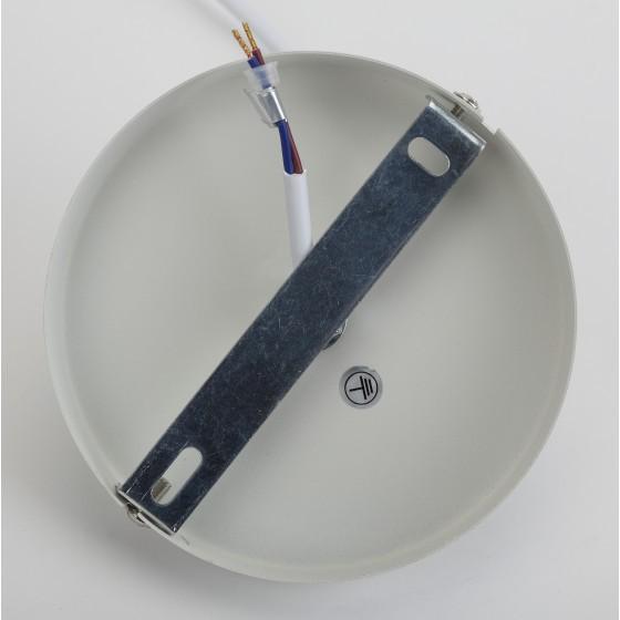 PL2 WH/SN Подвес ЭРА металл, E27, max 60W, d300 мм, шагрень белый/сатин никель 4