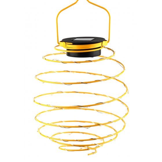 ERASF024-28 ЭРА Садовый подвесной светильник Спираль на солнечной батарее, 16 см 1