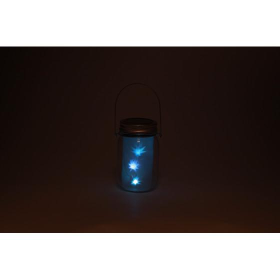 SL-GL14-JAR-3 ЭРА Садовый светильник на солнечной батарее, стекло, металл, прозрачный, 13,5 см 2