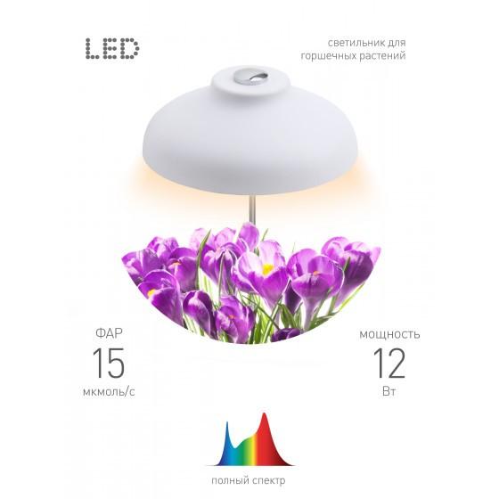 ЭРА Штыковой светильник полного спектра FITO-12W-FLED 4