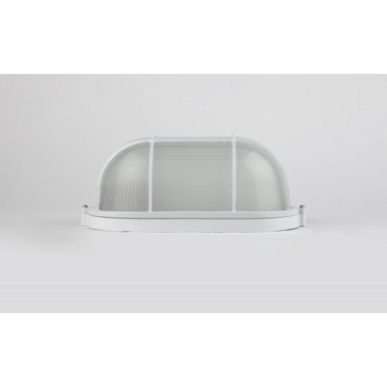 НБП 04-100-002 в инд. упаковке ЭРА Светильник Акватермо ал/стекло решетка IP54 E27 max 60Вт 280х160 3