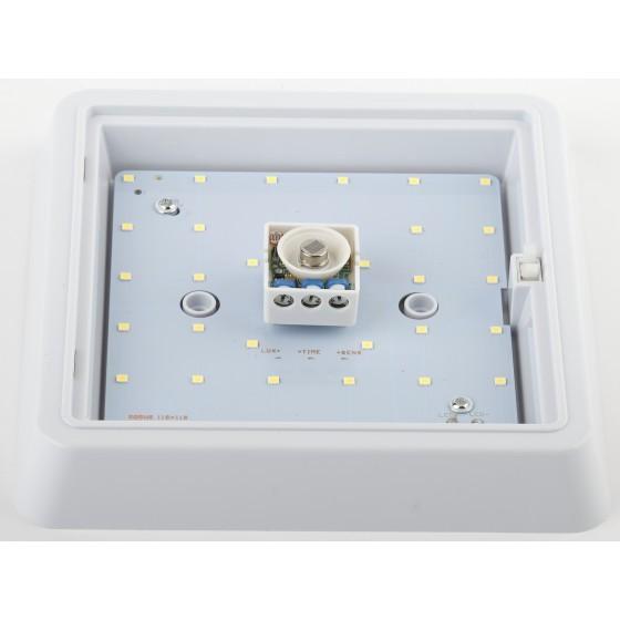 SPB-4-10-4K-MWS ЭРА Cветильник светодиодный IP20 10Вт 800Лм 4000К 170мм КВДРТ датчик движения 3