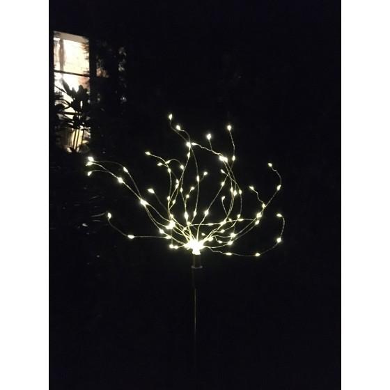 ERAUF024-01 ЭРА Садовый светильник Фейерверк на солнечной батарее 4
