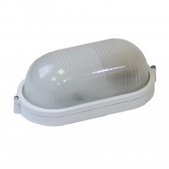 НБП 04-100-001 ЭРА Светильник Акватермо алюминий/стекло IP54 E27 max 100Вт 280х160 ОВАЛ БЕЛ 1