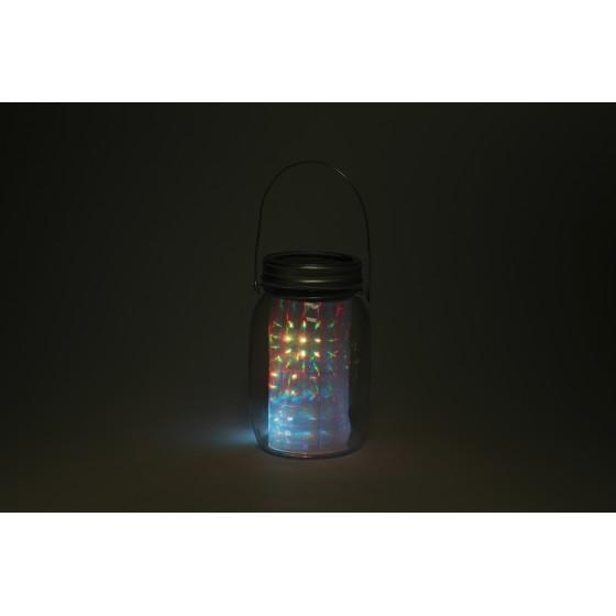 SL-GL14-JAR-2 ЭРА Садовый светильник на солнечной батарее, стекло, металл, прозрачный, 13,5 см 2