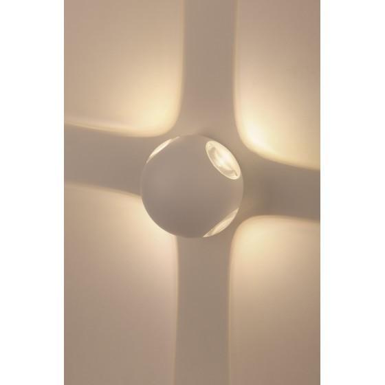 WL10 WH Подсветка ЭРА Декоративная подсветка светодиодная ЭРА 4*1Вт IP 54 белый 1