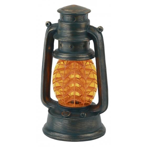 SL-RSN23-LANT-OR ЭРА Садовый светильник на солнечной батарее, полистоун, пластик, оранжевый, 21,3 см 1