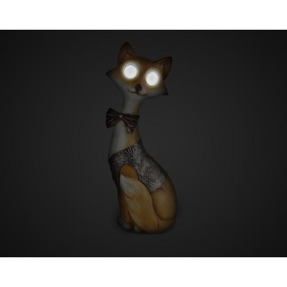 SL-RSN32-FOX ЭРА Садовый светильник на солнечной батарее, полистоун, цветной, 32 см 3